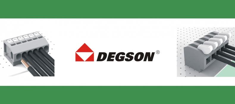 Degson: Neu im Lieferprogramm